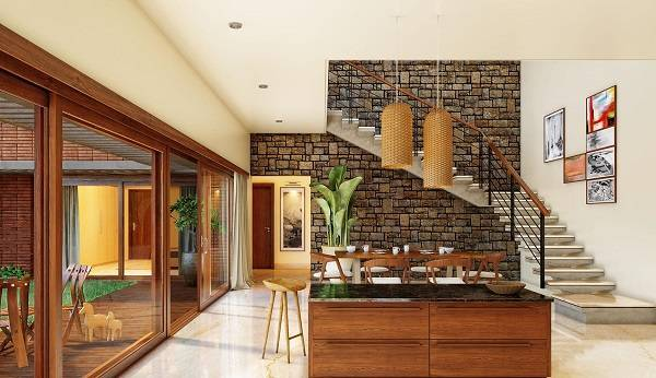 Total environment in that quite earth villa floor plan
